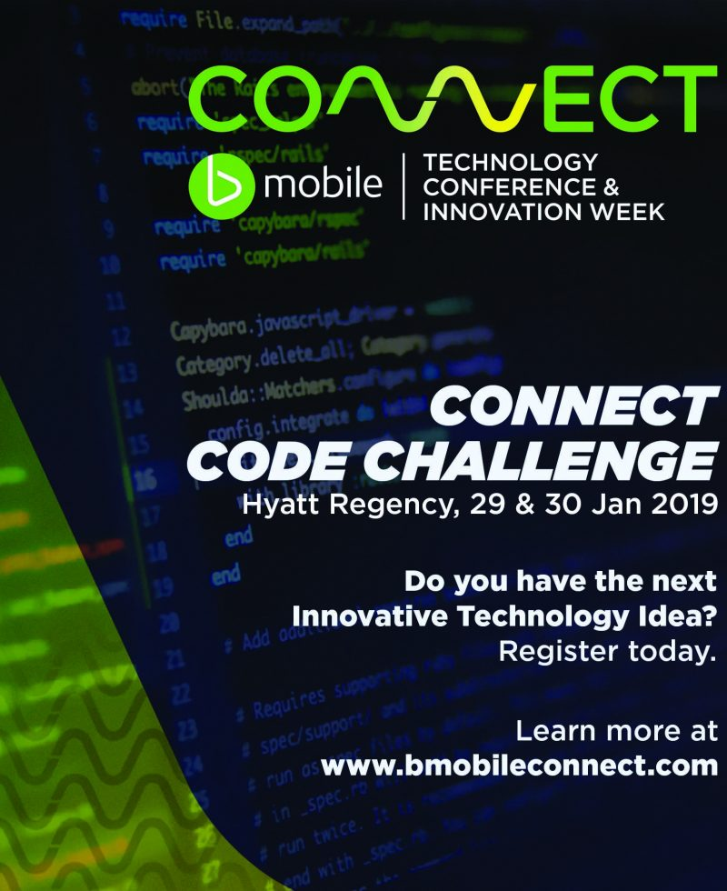 BMOBILE ENCOURAGES ENTREPRENEURS TO ENTER CODE CHALLENGE COMPETITION